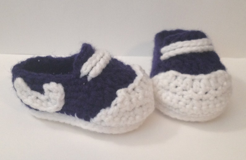 Sneakers  Chucks  Any Color  Newborn to 12 Months image 0