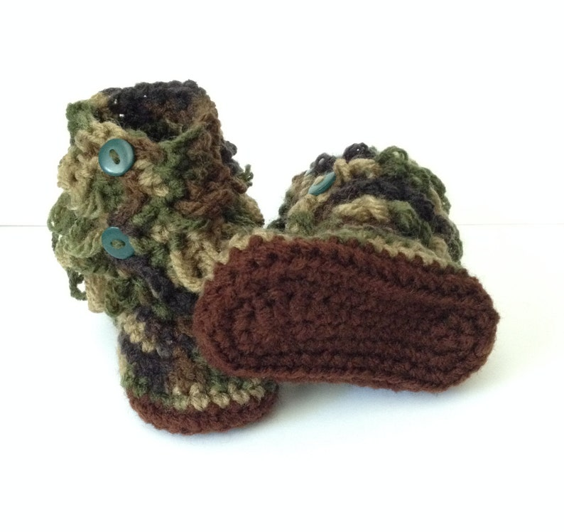 Adorable Handmade Moccasins  0 to12 Months  Any Color Combo image 0