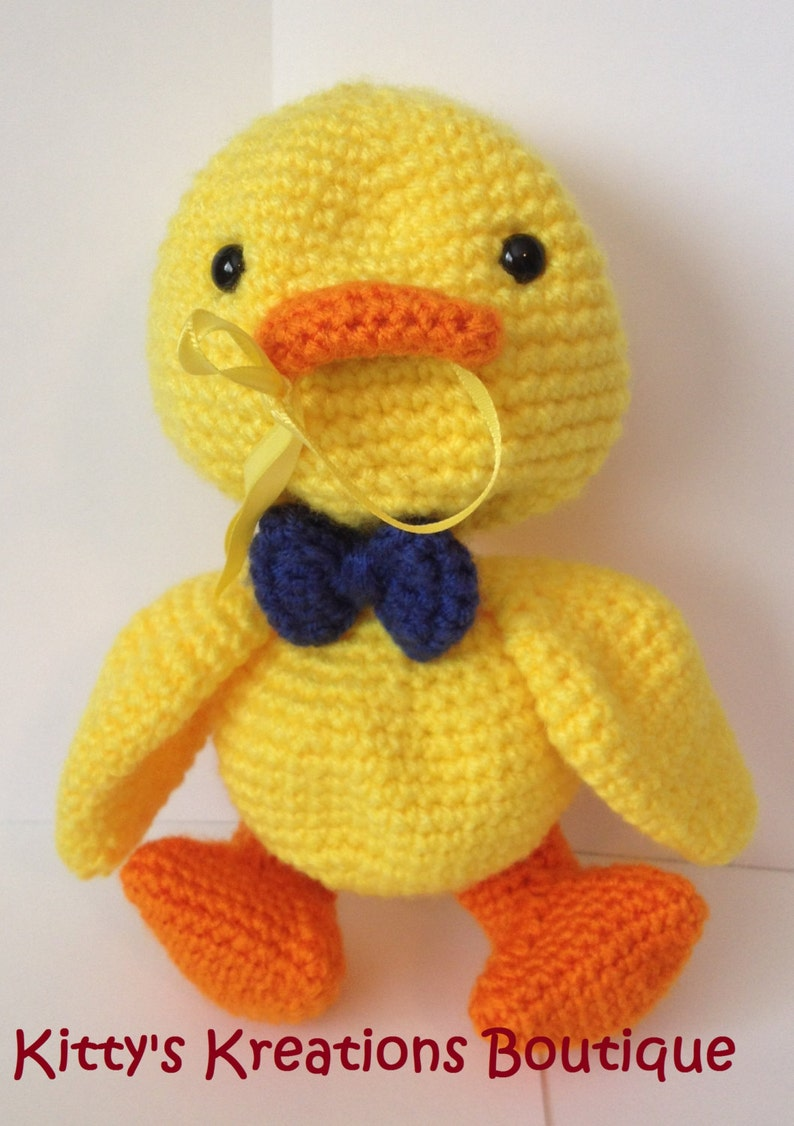 Duck Pacifier/ Binky Holder  Any Pacifier  8 x 4 image 0