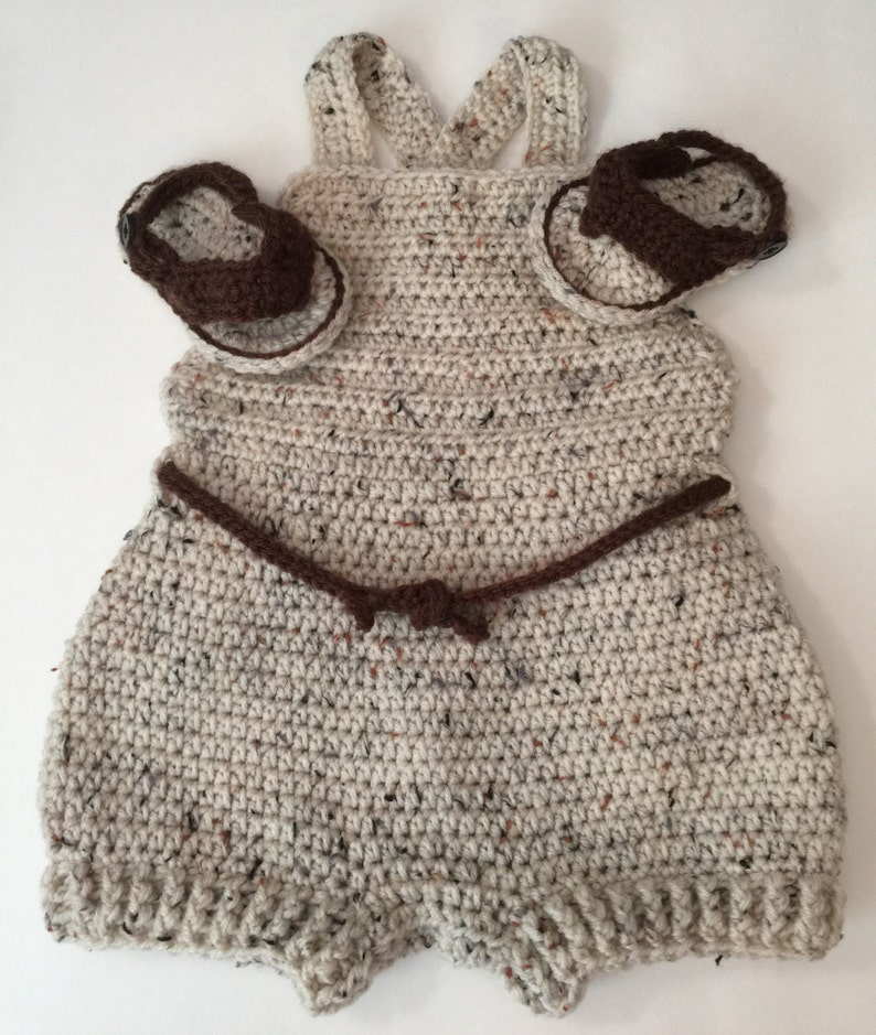Baby Romper  Any Color Combo  Newborn to 12 months image 0