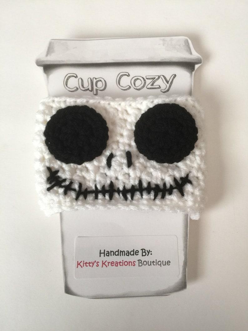 Jack Skeleton Coffee Cup/ Mug Cozy image 0