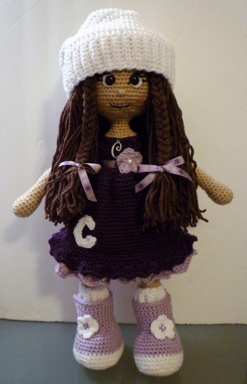 Adorable Doll Plush stuffed toy  Any Colors  20 image 0