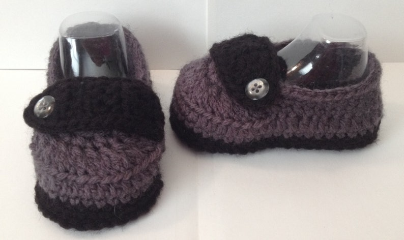 Handmade Baby Loafers/ Shoes  Any Color  Newborn to 12 image 0