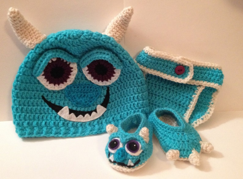 Sulley from Monsters Inc./ University Baby Outfit  Photo Prop image 0