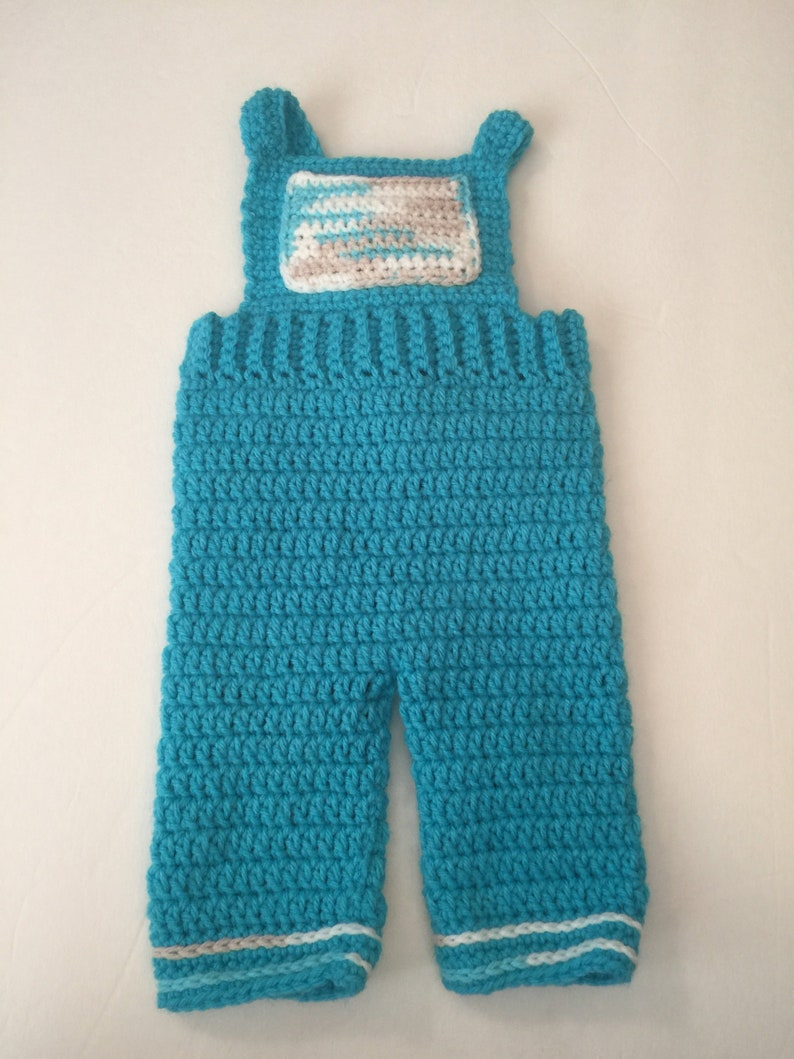 Baby Overalls  Any Color Combo  Newborn to 18 months image 0