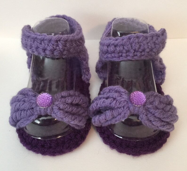 Perfect Baby Shower Gift Handmade Sandals  Sizes 0-12 Months image 0