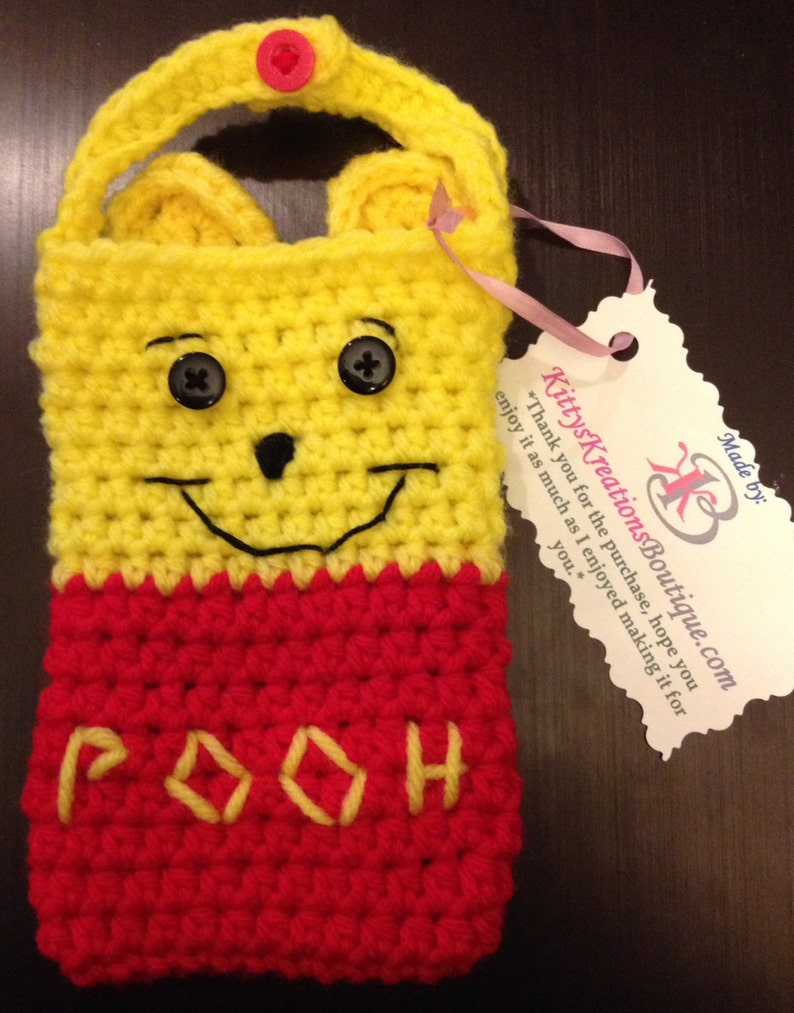 Winnie the Pooh phone Tablet or Laptop case with or w/out image 0
