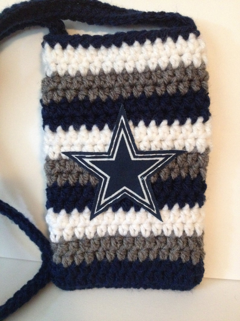 Dallas Cowboys Themed phone case with Handle  Can make for image 0