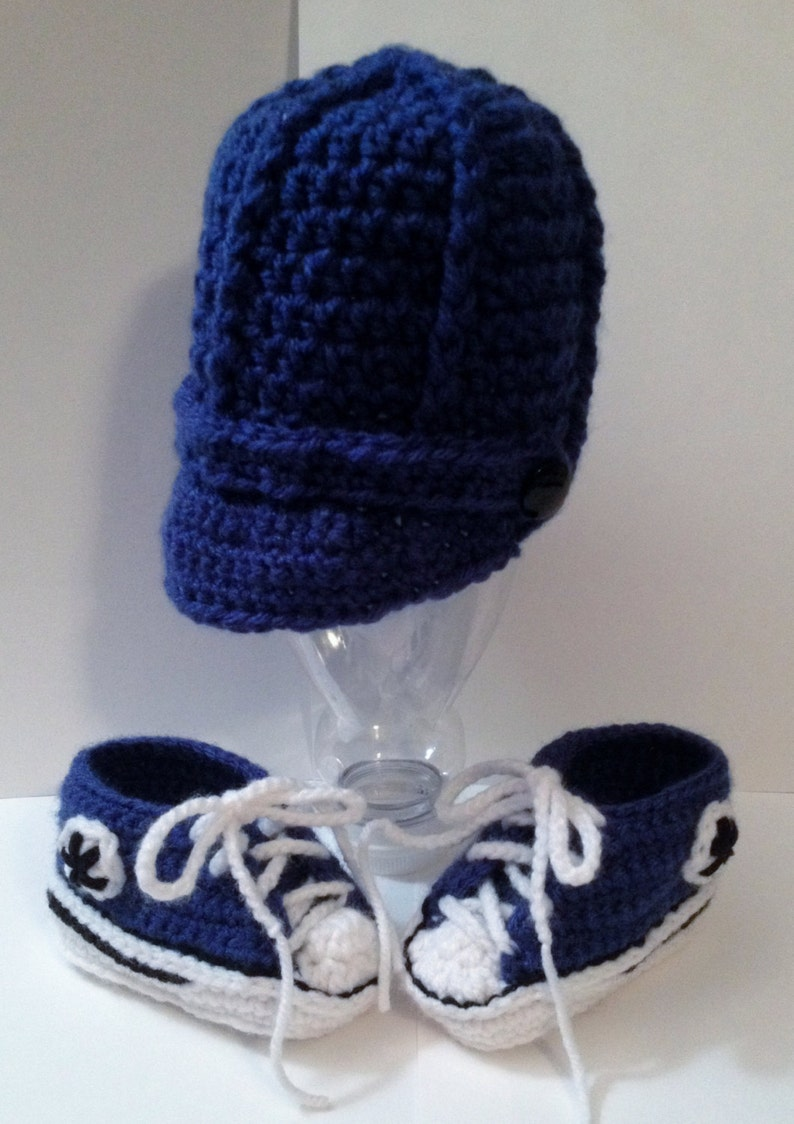 Handmade Cap-Baseball-hat  with Matching Converse/ Shoes/ image 0