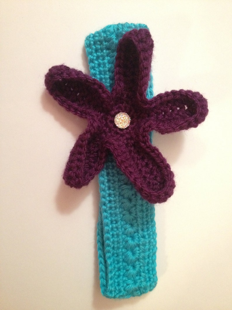 Over-sized Starfish Headband  Any color & Size Available image 0