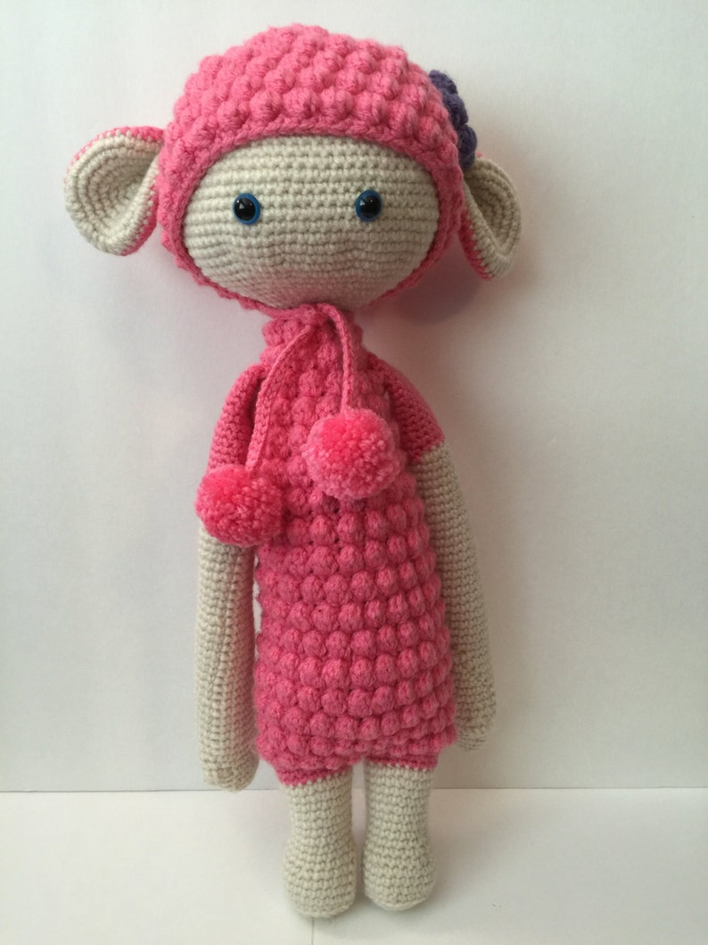 Lalylala Doll  Sheep  Any Colors  17 Tall image 0