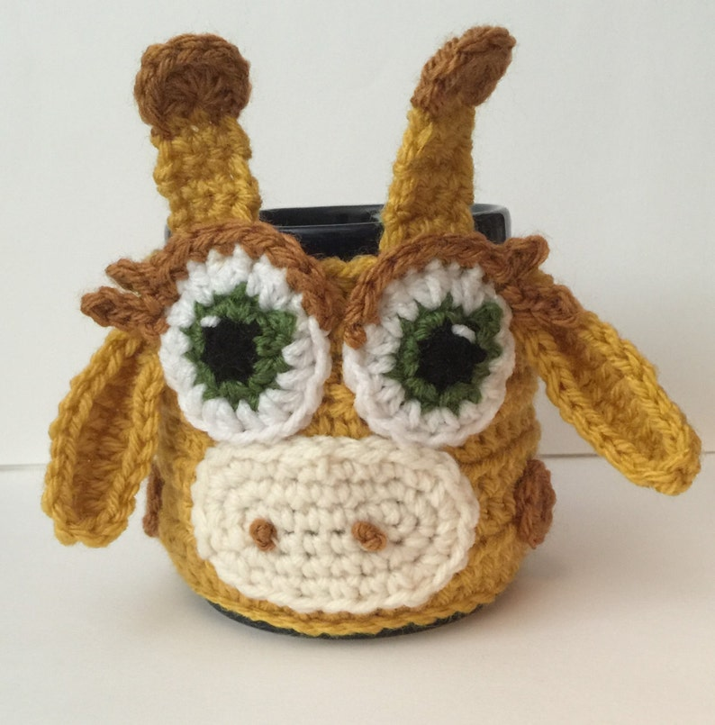 Giraffe Coffee/ Tea Cup/ Mug Cozy image 0