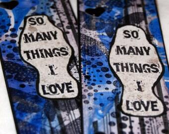 So Many Things I Love Bookmark