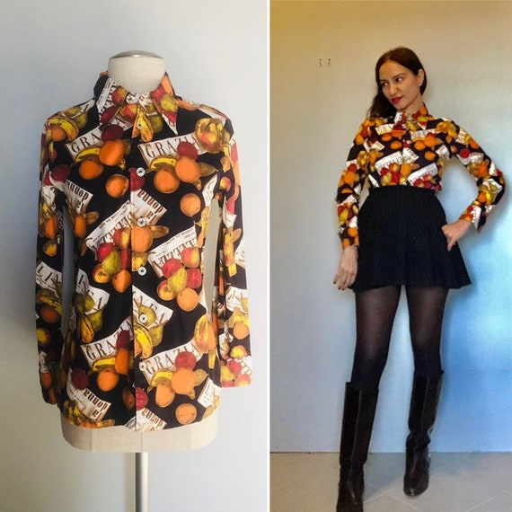 Vintage 60s Givenchy iconic blouse  small