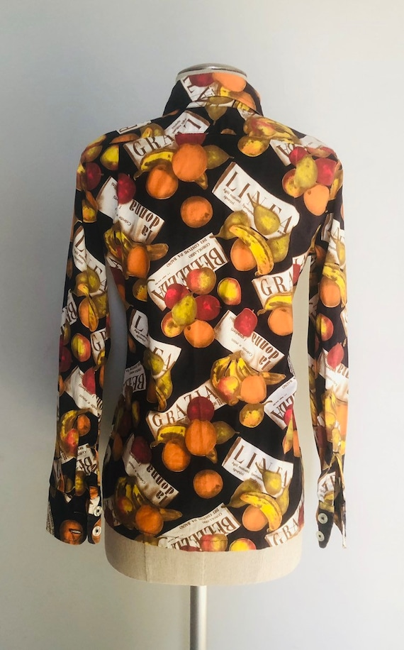 Vintage 60s Givenchy iconic blouse  small - image 6