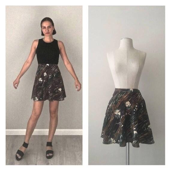Vintage 60s MOD mini Skirt  Small