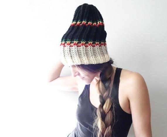Stoner accessory Womens crochet hat merino wool yarn shades of brown The Woods Hike Hat Mens Crochet Beanie