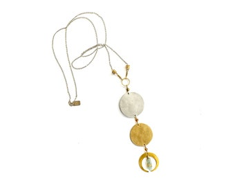 Moon Cycles Necklace (P3259)