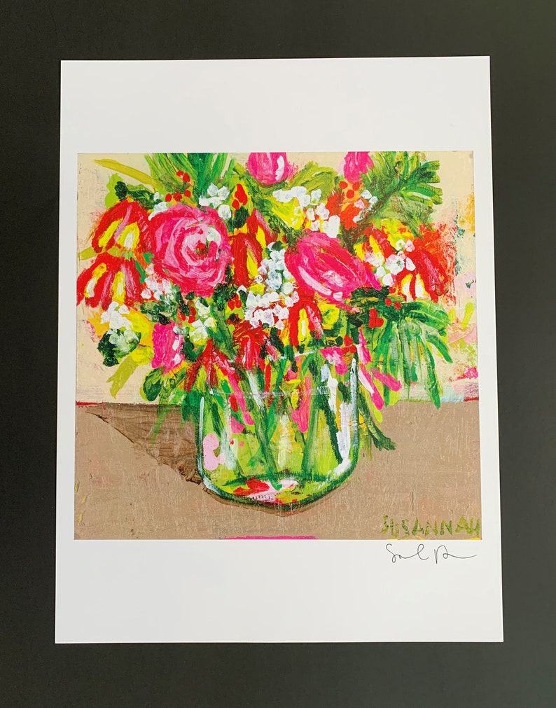 From A Ribbon Limited Edition Print from Original Painting image 0