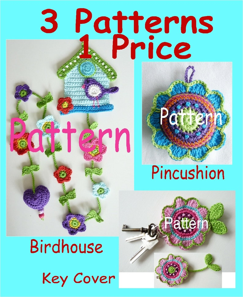 3 Patterns One Price Uk Terminology Instant Download Etsy