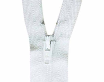 COSTUMAKERS General Purpose Closed End Zipper 23cm (9″) - White