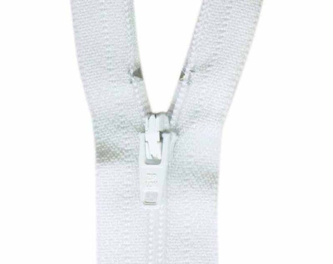 COSTUMAKERS General Purpose Closed End Zipper 23cm (9″) - White