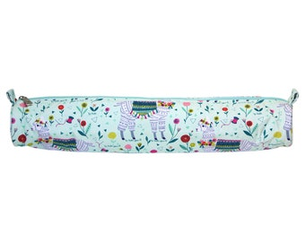 SEW EASY Llama Knitting Needle Storage Case - notion case, knitting, knit, craft, gift, pouch, long pouch, zipper, cute, wallet, alpaca