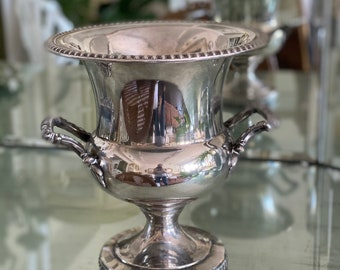 Vintage 50s Silverplate Ice Bucket