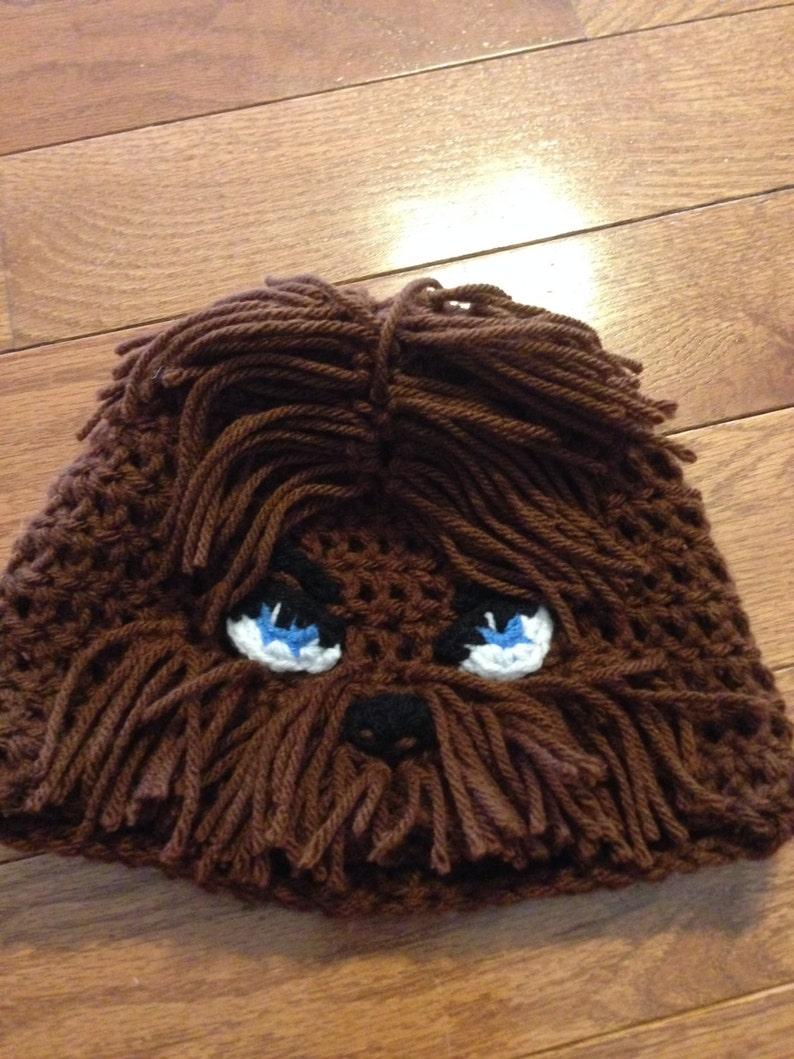 Star Wars Chewbacca Beanie Chewbacca Hat Chewy Beanie Star  a183532ed82