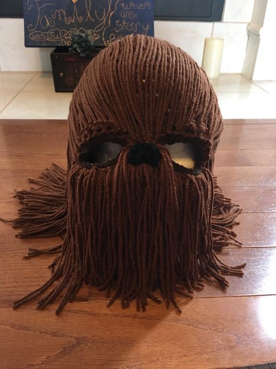 Chewbacca beanie Star Wars beanie Chewbacca mask Star Wars  3397412b6d1