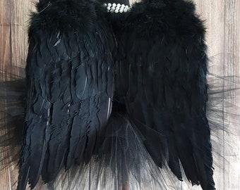 Fallen Angel Costume Etsy