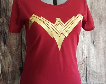 9885457865a Wonder Woman Costume Shirt