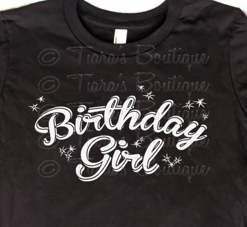 7b4cc9356 Women's Birthday T-Shirt Birthday Girl Shirt or Tank | Etsy
