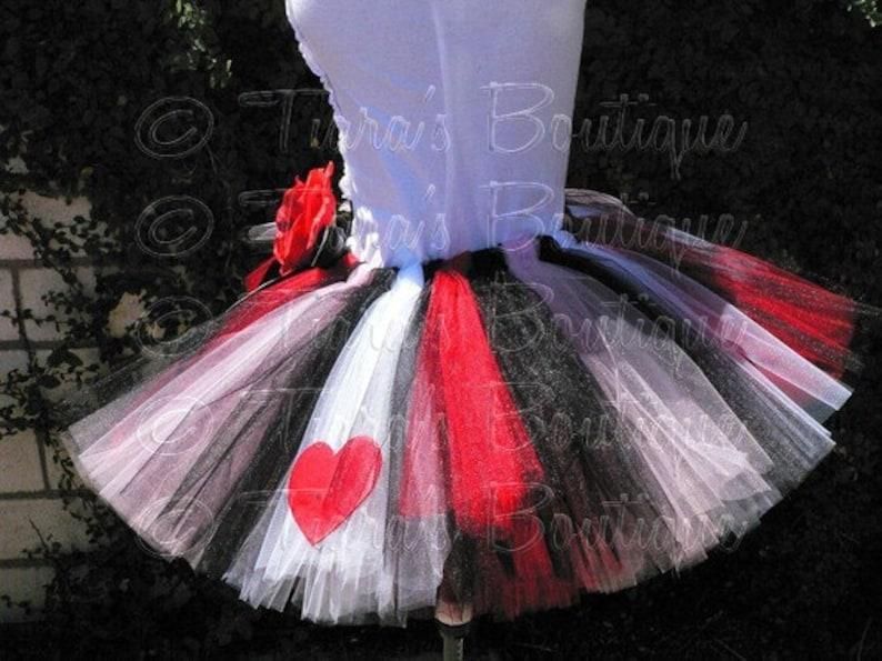The Original Queen of Hearts Tutu Adult Teen Costume Tutu