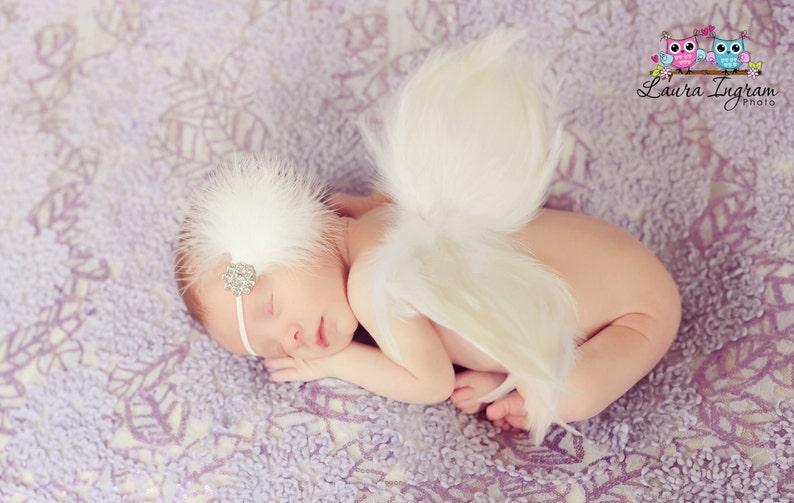 Handmade Angel Wings Baby Photo Prop