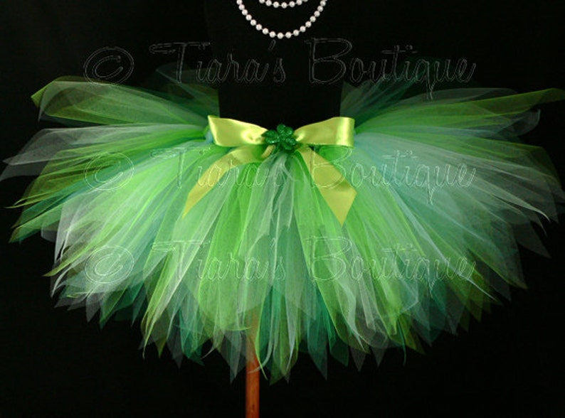 sizes up to 5T Shamrock Tutu Shaylee St Erin Go Bragh Green Tutu Custom 13 Sewn Pixie Tutu Birthday Tutu Patrick/'s Day Tutu
