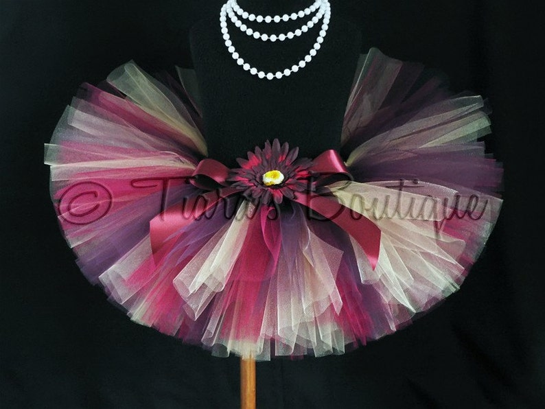 Girls- Custom Sewn 8 Tutu Golden Plum Tutu Skirt for Baby Christmas Tutu sizes Newborn to 5T Autumn Tutu Toddler Birthday Tutu