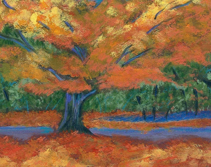 Autumn's Splendor notecard