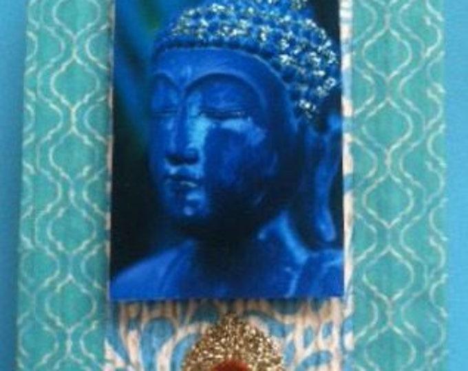 Buddha altered tin shrine