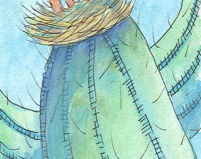 Cactus Hatchery greeting card