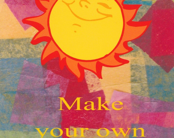Make Your Own Sunshine blank greeting card