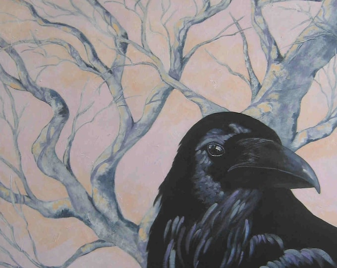 The Elder raven greeting card