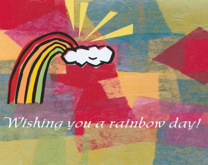 Have a Rainbow Day blank greeting card