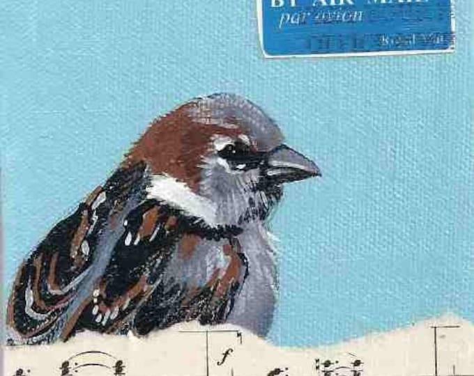 Sparrow's Song notecard