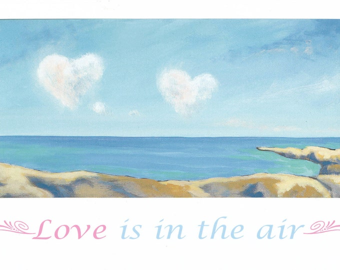 Love is in the air LARGE card