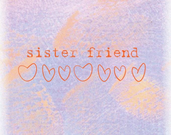 Lolo Love card line sister friend