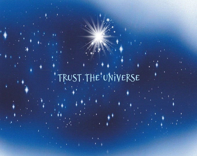 Lolo Love cards trust the universe