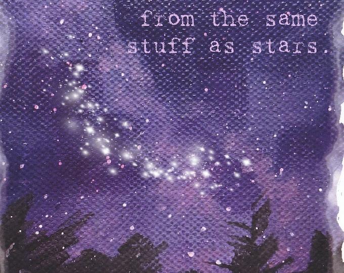 Lolo Love card line stuff made of stars
