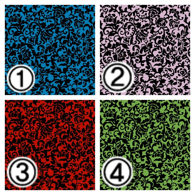 Craft Vinyl Patterned Vinyl HTV Prints Vinyl Prints Sheet size 12x12 Heat Transfer Vinyl Vinyl Sheets Damask Pattern Vinyl SKU 0262