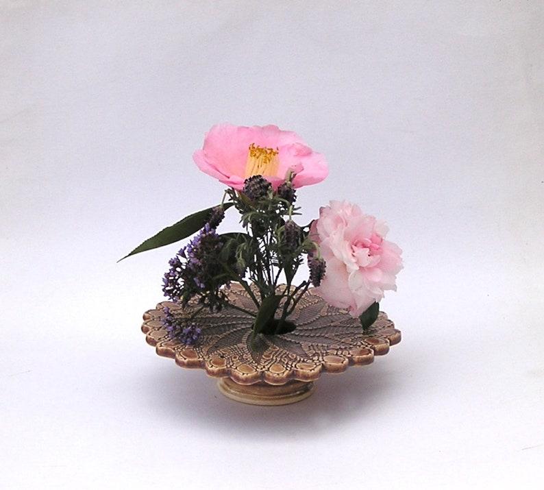 Home Decor Art Pottery Vase Kiln Fired Ceramic Ikebana